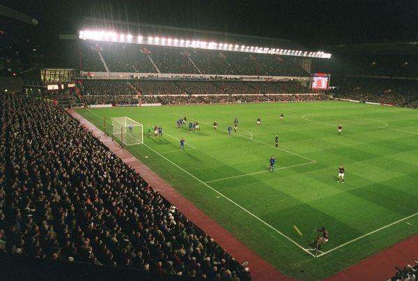 arsenal stadium match photographed south