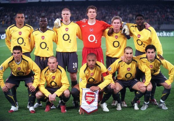 The Arsenal team before the match. Juventus 0:0 Arsenal. UEFA Champions League