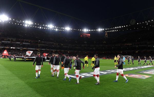 arsenal team walk match arsenal 41 cska moscow