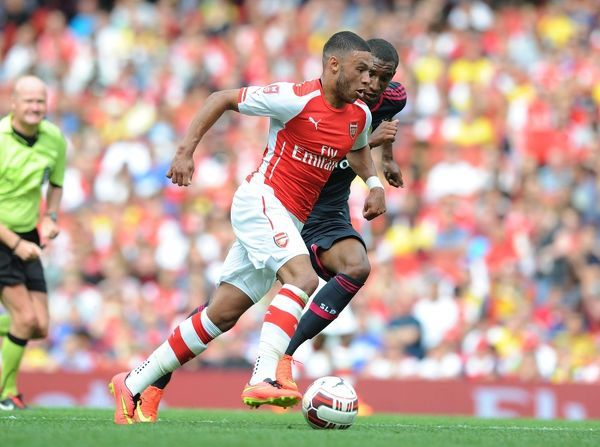 arsenal v benfica emirates cup