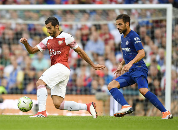 arsenal v chelsea international champions