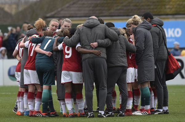 arsenal v chelsea ladies 1 4 2018 womens