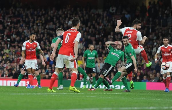 arsenal v lincoln city emirates fa cup