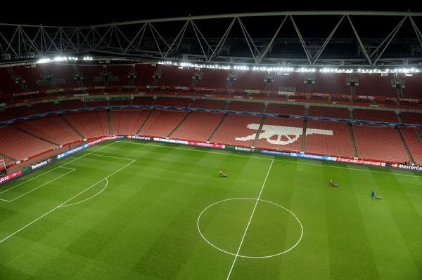 arsenal v monaco fc uefa champions league