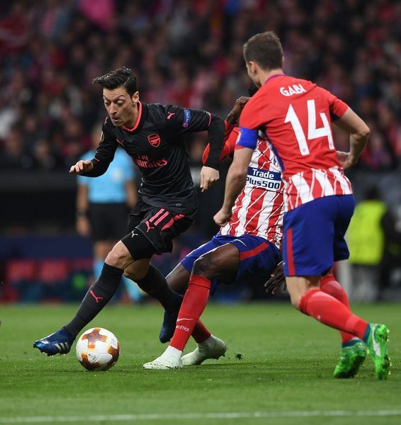 atletico madrid v arsenal fc uefa europa