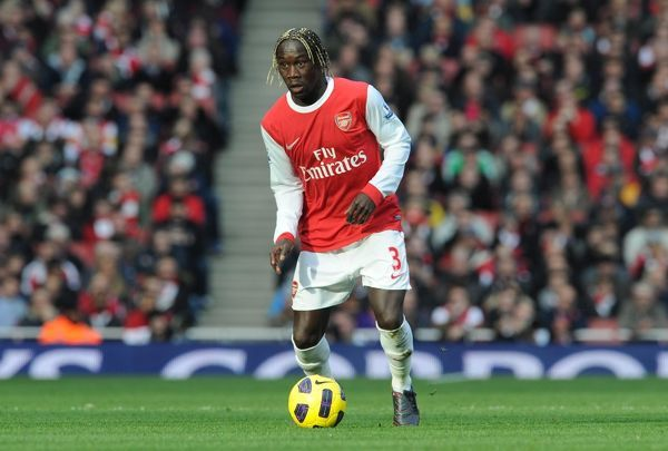 Bacary Sagna (Arsenal). Arsenal 0:1 Newcastle United, Barclays Premier League