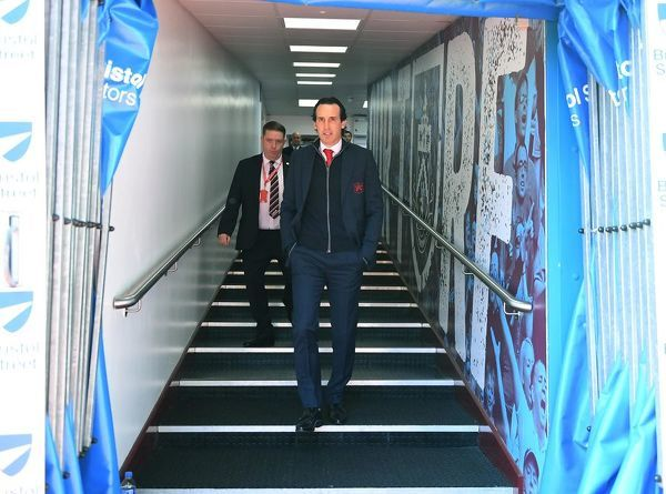 BURNLEY, ENGLAND - MAY 12: Arsenal Head Coach Unai Emery before the Premier League match between Burnley FC and Arsenal FC at Turf Moor on May 12, 2019 in Burnley, United Kingdom. (Photo by Stuart MacFarlane/Arsenal FC via Getty Images)