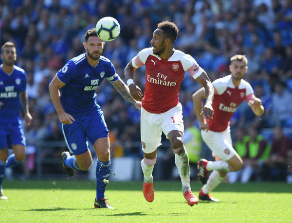cardiff city v arsenal fc premier league
