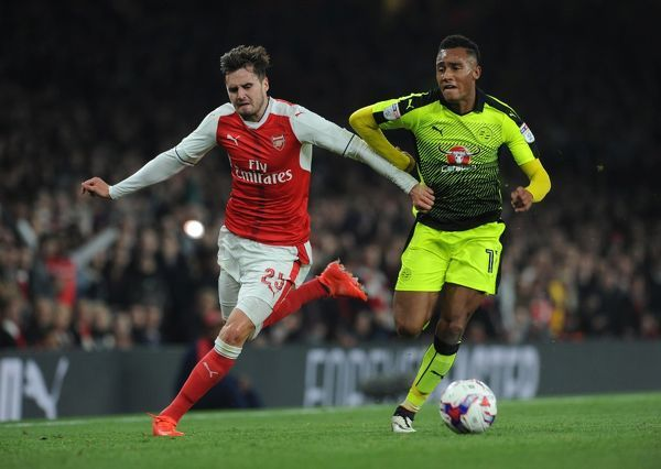carl jenkinson arsenal sandro wieser reading