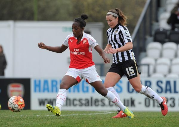 danielle carter arsenal ladies amy turner