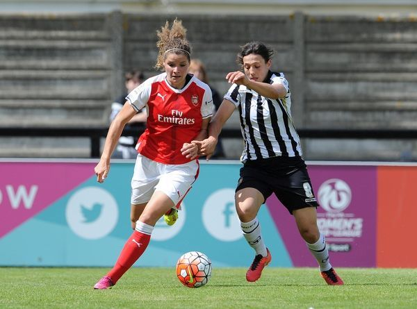 dominique janssen arsenal ladies rachel williams