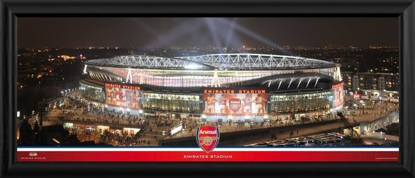 Emirates at Night Large Framed Photographic Print