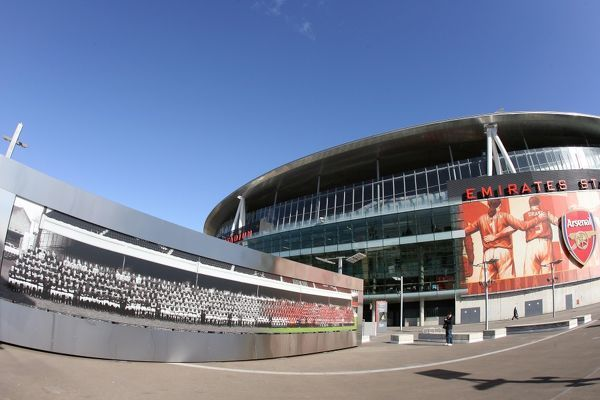 Emirates Stadium, 1/3/10. Credit: Arsenal Football Club / David Price