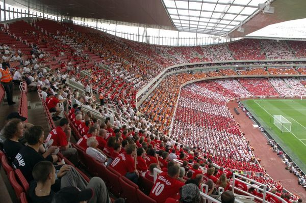 emirates stadium fans south end