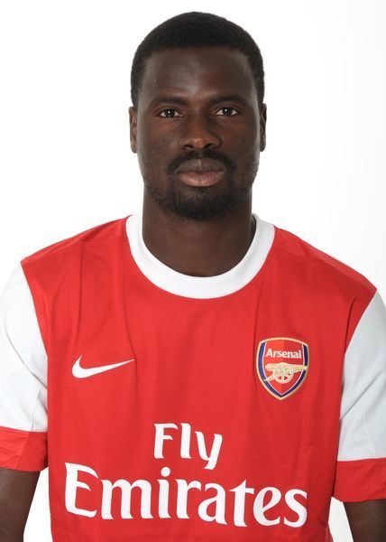 Emmanuel Eboue (Arsenal). Arsenal 1st Team Photocall and Membersday. Emirates Stadium