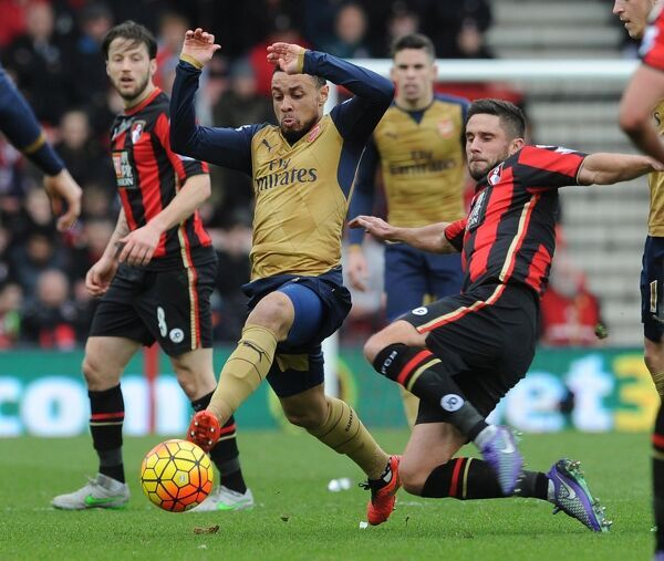 francis coquelin arsenal andrew surman bournemouth