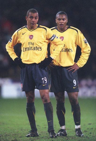 Gilberto and Julio Baptista (Arsenal)