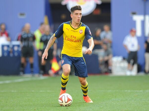Hector Bellerin (Arsenal). New York Red Bulls 1:0 Arsenal. Pre Season Friendly. Red Bulls Arena. Harrison, New Jersey, 26/7/14. Credit : Arsenal Football Club / David Price