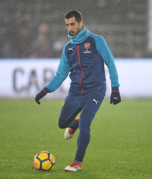 henrikh mkhitaryan arsenal swansea 31 arsenal