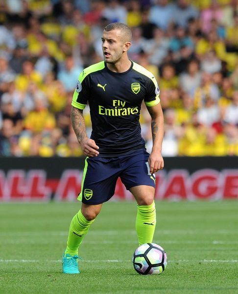 jack wilshere arsenal watford 13 arsenal