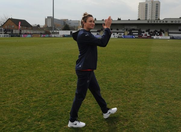 jodie taylor arsenal ladies introduced