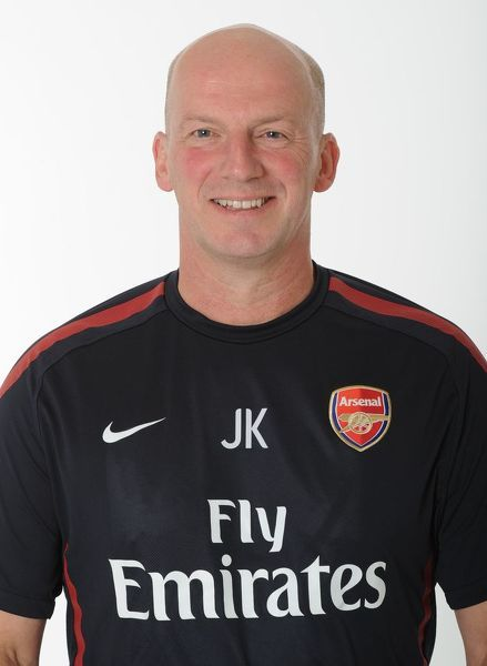 John Kelly (Arsenal Masseur). Arsenal 1st Team Photocall and Membersday