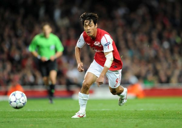 Ju Young Park (Arsenal). Arsenal 0:0 Marseille. UEFA Champions League. Group F