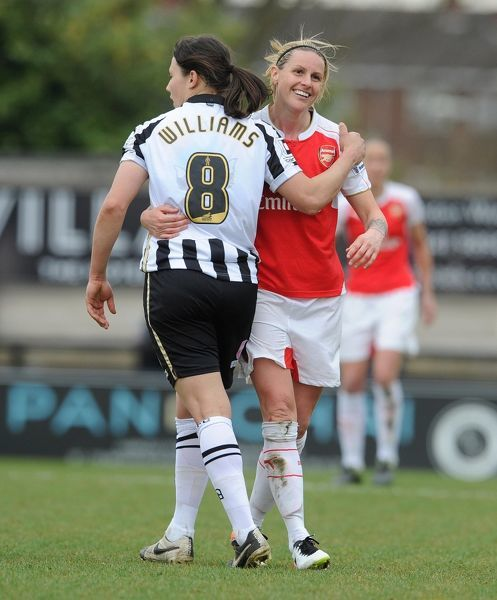 kelly smith arsenal ladies rachel williams