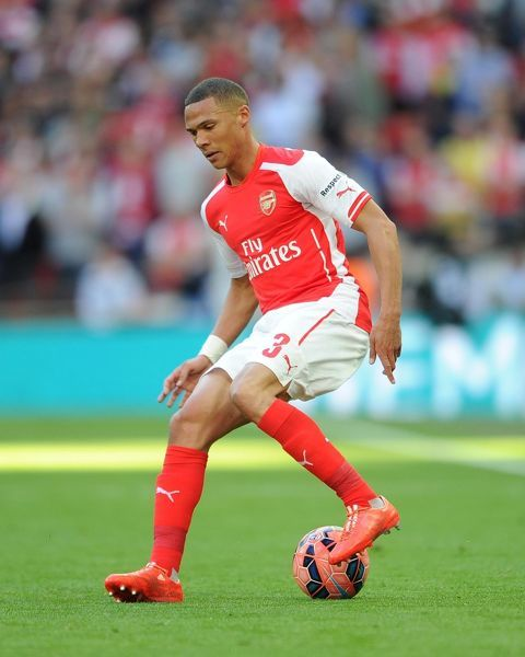kieran gibbs arsenal arsenal 21 reading extra time