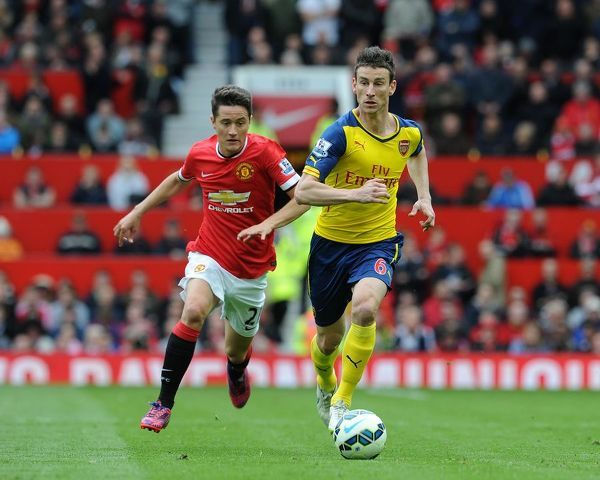 laurent koscielny arsenal ander herrera man utd