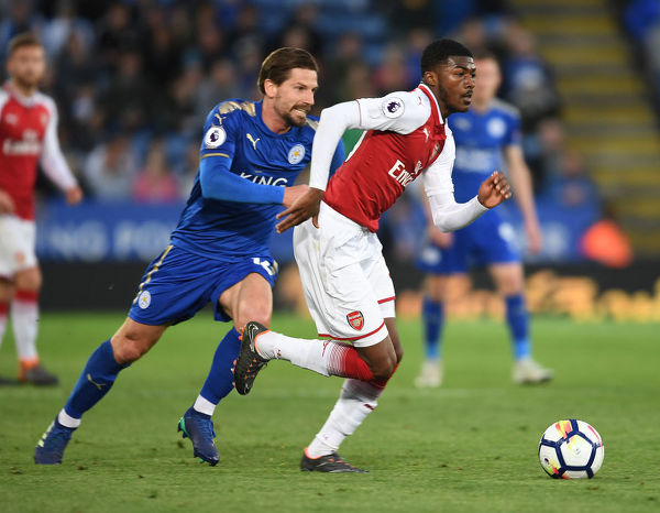 leicester city v arsenal premier league