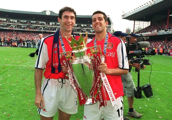 martin keown and edu lift the fabarclaycard