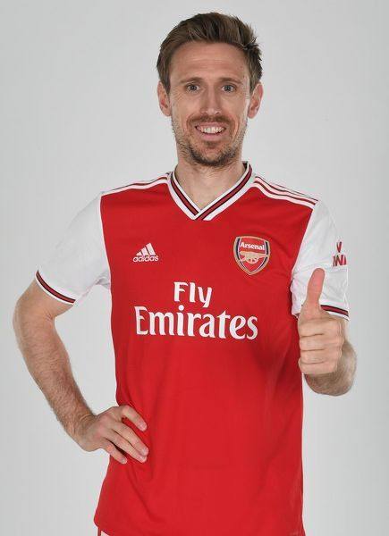 Nacho Monreal of Arsenal. Arsenal Training Ground, London Colney, Hertfordshire, 4th April 2019. Copyright : Stuart MacFarlane / Arsenal Football Club