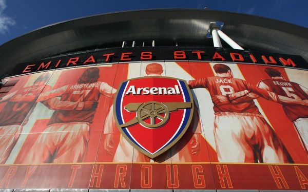 new arsenalisation banners place stadium