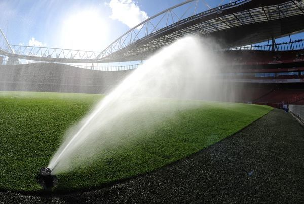 pitch watered match arsenal 30 burnley