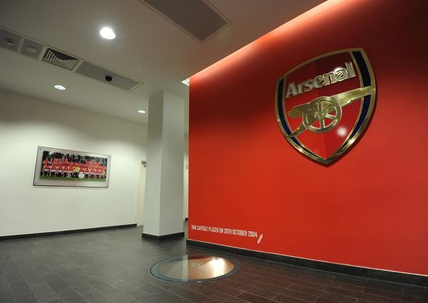 players entrance arsenal 21 manchester united