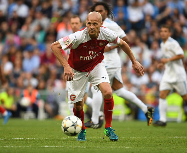 real madrid cl legends v arsenal fc legends