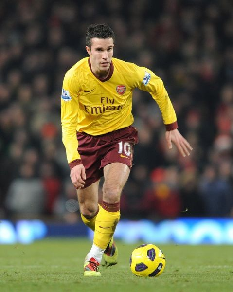 Robin van Persie (Arsenal). Manchester United 1:0 Arsenal, Barclays Premier League