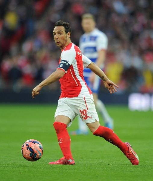 santi cazorla arsenal arsenal 21 reading extra time