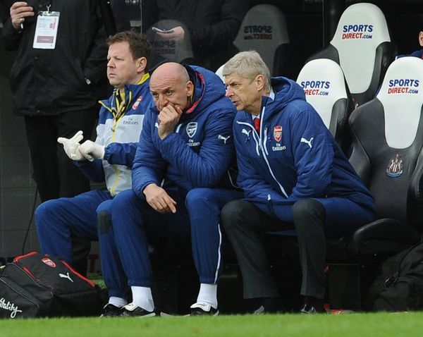 steve bould arsenal assistant manager arsene