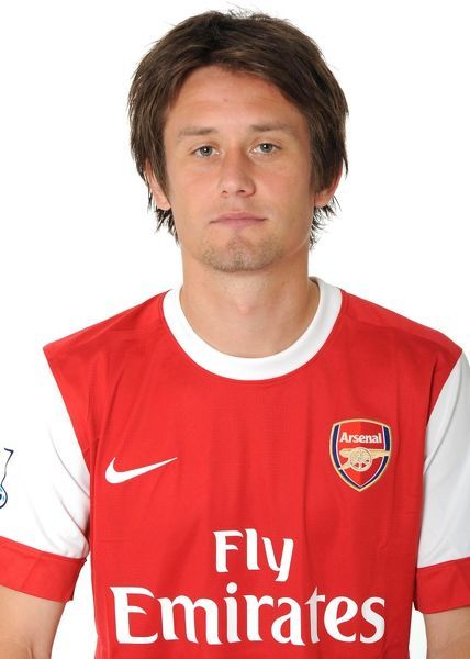 Tomas Rosicky (Arsenal). Arsenal 1st Team Photocall and Membersday. Emirates Stadium