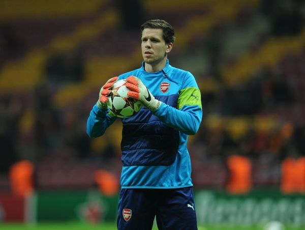 Wojceich Szczesny (Arsenal). Galatasaray 1:4 Arsenal. UEFA Champions League. Group D