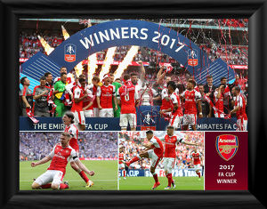 special editions/2017 fa cup winners framed print