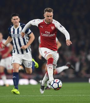 season 2017 18/arsenal v west bromwich albion 2017 18/aaron ramsey arsenal arsenal 20 west bromwich