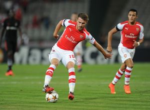 season 2014 15/besiktas v arsenal 2014 15/aaron ramsey arsenal besiktas 00 arsenal