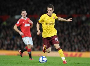 previous season matches/matches 2010 11 manchester united v arsenal fa cup 2010 11/aaron ramsey arsenal manchester united 20 arsenal
