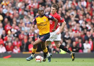 team/players coaches diaby abou/abou diaby arsenal michael carrick man united