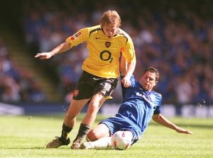 Alex Hleb (Arsenal) Asier Del Horno (Chelsea). Arsenal 1:2 Chelsea
