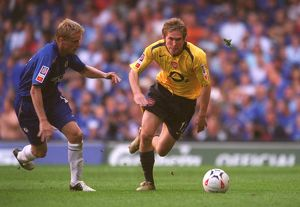 Alex Hleb (Arsenal) Damien Duff (Chelsea). Arsenal 1:2 Chelsea