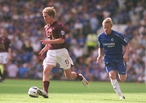 Alex Hleb (Arsenal) Damien Duff (Chelsea). Chelsea 1:0 Arsenal